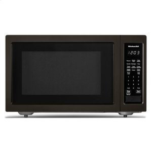 "KitchenAidKitchenAid® 21 3/4"" Countertop Microwave Oven with PrintShield™ Finish - 1200 Watt - Black Stainless"