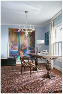 Pebbles Wine Hand Knotted Rugs