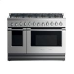 "Fisher & PaykelGas Range, 48"", 8 Burners"