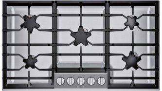 36-Inch Masterpiece™ Pedestal Star™ Burner Gas Cooktop