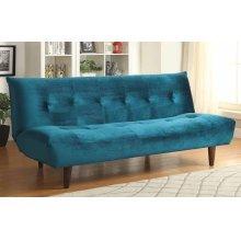 Teal Velvet Sofa Bed