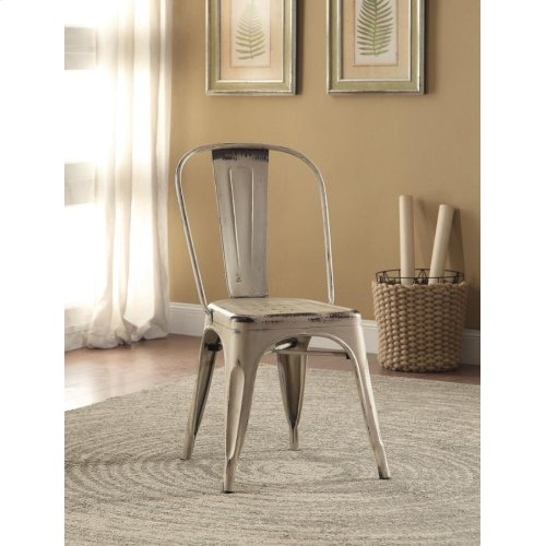 Bellevue Rustic White Dining Chair