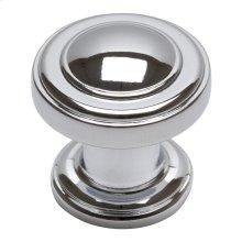 Bronte Knob 1 1/8 Inch - Polished Chrome