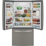 Ge(r) Energy Star(r) 24.7 Cu. Ft. French-Door Refrigerator