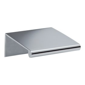 Tab Edge Pull 1 1/4 Inch (c-c) - Polished Chrome