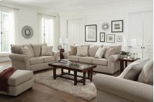41520  Sofa, Loveseat and Chair - Stone