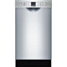300 Series built-under dishwasher 17 3/4'' Stainless steel SPE53U55UC