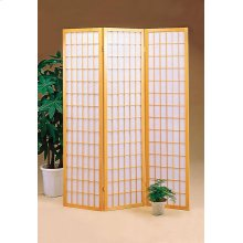 Transitional Natural Folding Screen