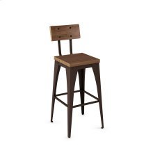 Upright Non Swivel Stool