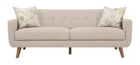 Emerald Home Remix Sofa W/2 Accent Pillows Beige U3789m-00-19