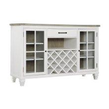 Emerald Home Buffet, Antique White D727-50-09