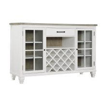Emerald Home Buffet, Antique White Rtgd727-50
