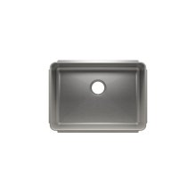 "Classic 003217 - undermount stainless steel Kitchen sink , 24"" × 17"" × 10"""