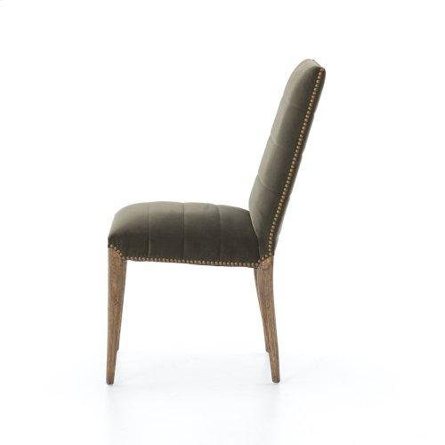Modern Velvet Loden Cover Nate Dining Chair