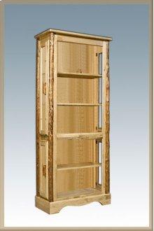 Glacier Country Log Curio Cabinet