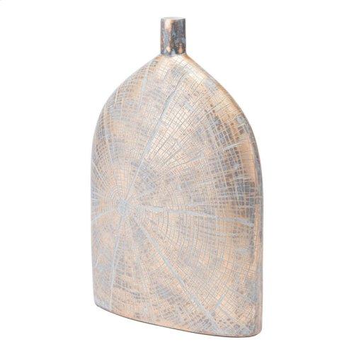 Solar Tall Vase Antique Gold