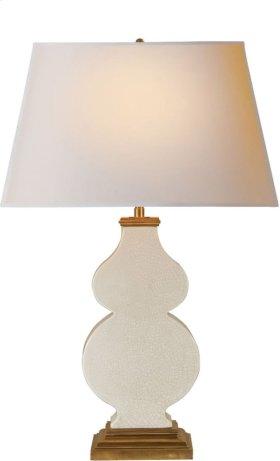 Visual Comfort AH3063TS-NP Alexa Hampton Anita 29 inch 100 watt Tea Stain Porcelain Decorative Table Lamp Portable Light