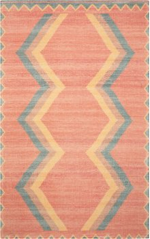 Madera Mad02 Tangerine Rectangle Rug 5' X 7'