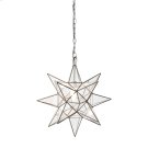 Small Clear Star Chandelier. Product Image