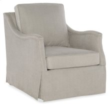 Living Room Oberlin Skirted Swivel Chair 1506