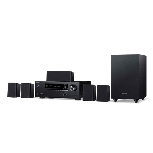 5.1- Ch Home Theater Receiver & Speaker Package