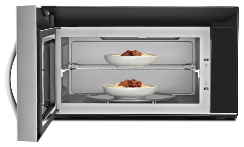 2.1 cu. ft. Capacity Steam Microwave With SteamClean Option