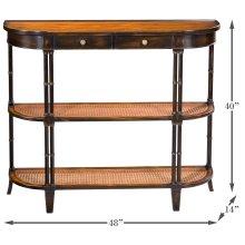 Winston Console Table W/Shelves