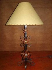 Three Star Metal Lamp Product Image