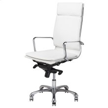 Carlo Office Chair  White