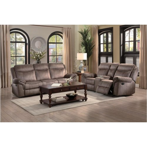 8206nf3 In By Homelegance In Double Reclining Sofa With Center