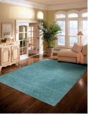AMORE AMOR1 AQUA RECTANGLE RUG 7'10'' x 10'10''