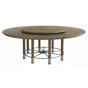 "Octo Dining Table - 74"" Oak"