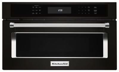 "30"" Built In Microwave Oven with Convection Cooking - Black Stainless Product Image"