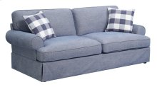 Mountain Retreat - Sofa-pool Blue W/2 Pillows and 2 Pillows