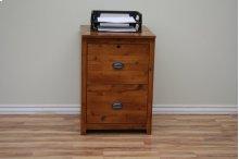 A-R646 Rustic Alder Letter/Legal File Cabinet