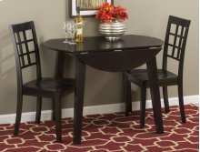 Simplicity Table & 2 Grid Back Chairs
