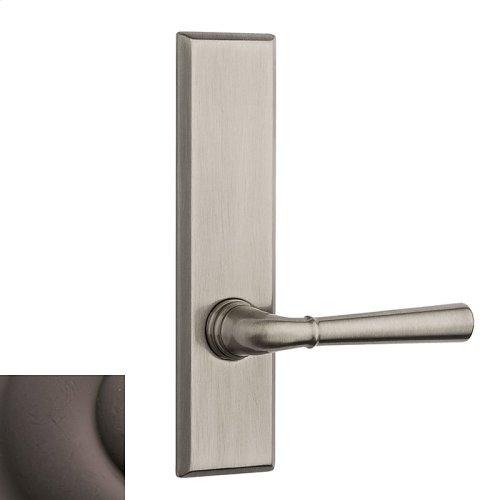 Distressed Venetian Bronze Traditional L027 Lever Screen Door