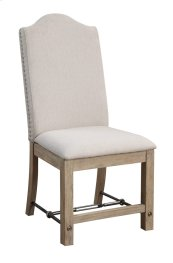 Emerald Home Castle Bay Chair W/upholstered Seat & Back Pine D952-22