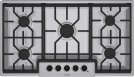 """36"""" Gas Cooktop 500 Series - Stainless Steel NGM5654UC Product Image"""