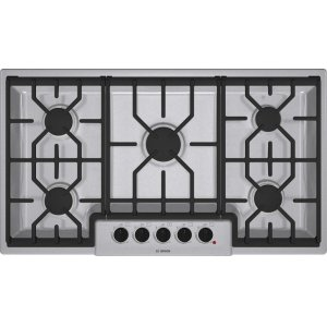 "Bosch36"" Gas Cooktop 500 Series - Stainless Steel NGM5654UC"