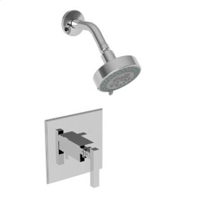 Stainless-Steel-PVD Balanced Pressure Shower Trim Set