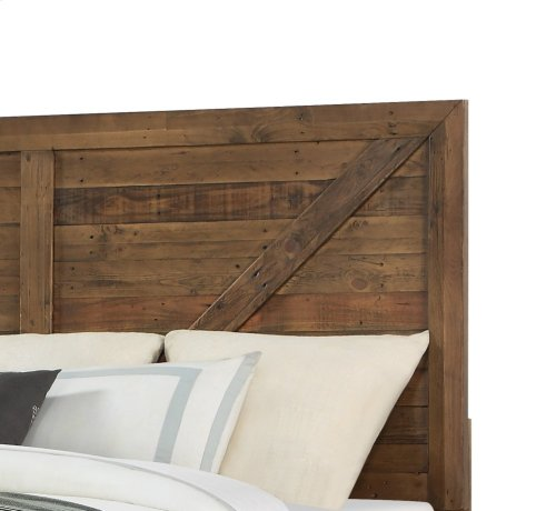 Emerald Home Pine Valley Solid Wood King Bed Kit B744-12-k