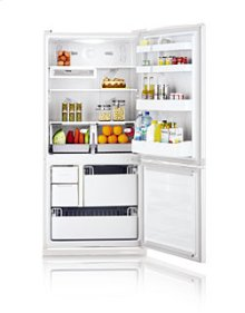 19.6 cu.ft. bottom freezer - smooth white