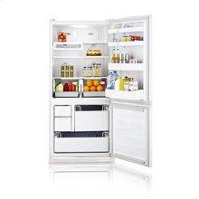 19.6 cu.ft. bottom freezer - smooth white