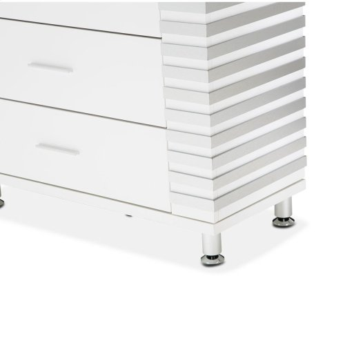 6 Drawer Chest Cloud White