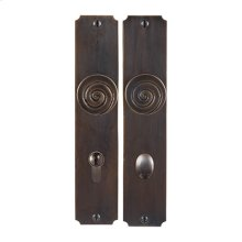 Solid Bronze Casa California Knob Multipoint Entry Set