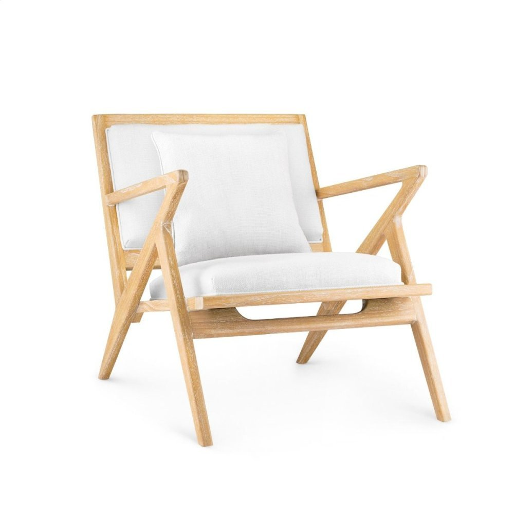 Ethan Lounge Chair, Natural