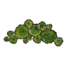 Metal Lily Pad Wall Decor
