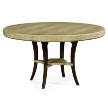 """54"""" Art Deco Round Dining Table"""