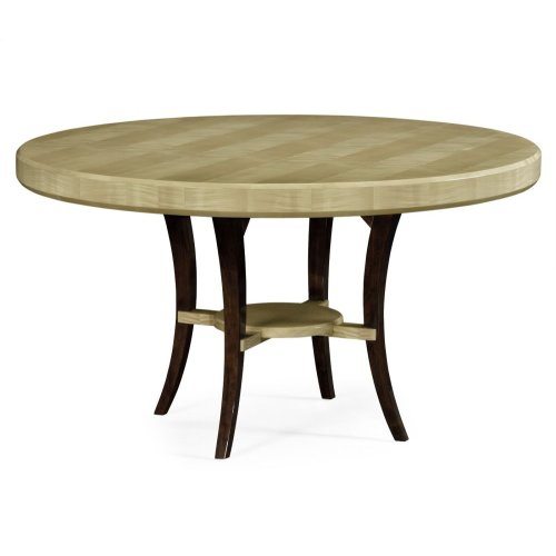 "54"" Art Deco Round Dining Table"